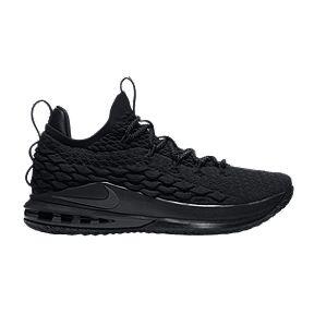 pretty nice 9d9e6 00528 Nike Men s LeBron XV Low Basketball Shoes - Black Grey
