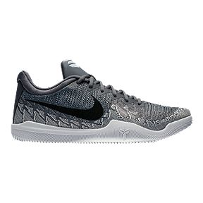 buy popular 51e55 7c355 Nike Men s KB Mamba Rage Basketball Shoes - Grey Black White