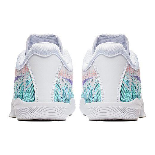 Nike Men's KB Mamba Rage Basketball Shoes - White/Grape ...