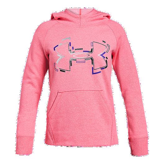 0a7e6d607b Under Armour Girls' Threadborne Fleece Pullover Hoodie | Sport Chek