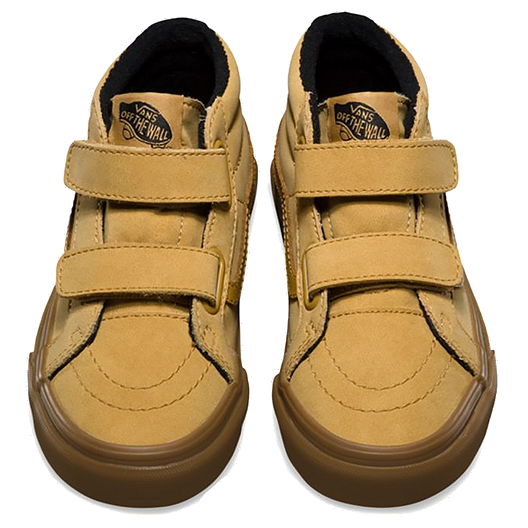 50ba275a19 Vans Kids  Sk8 Mid V MTE Grade School Shoes - Vansbuck Apple Cinnamon. (0).  View Description
