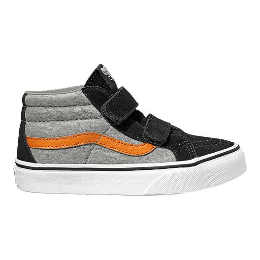 2a5281017647 Vans Kids  SK8 Mid Reissue V Shoes - Grey Black