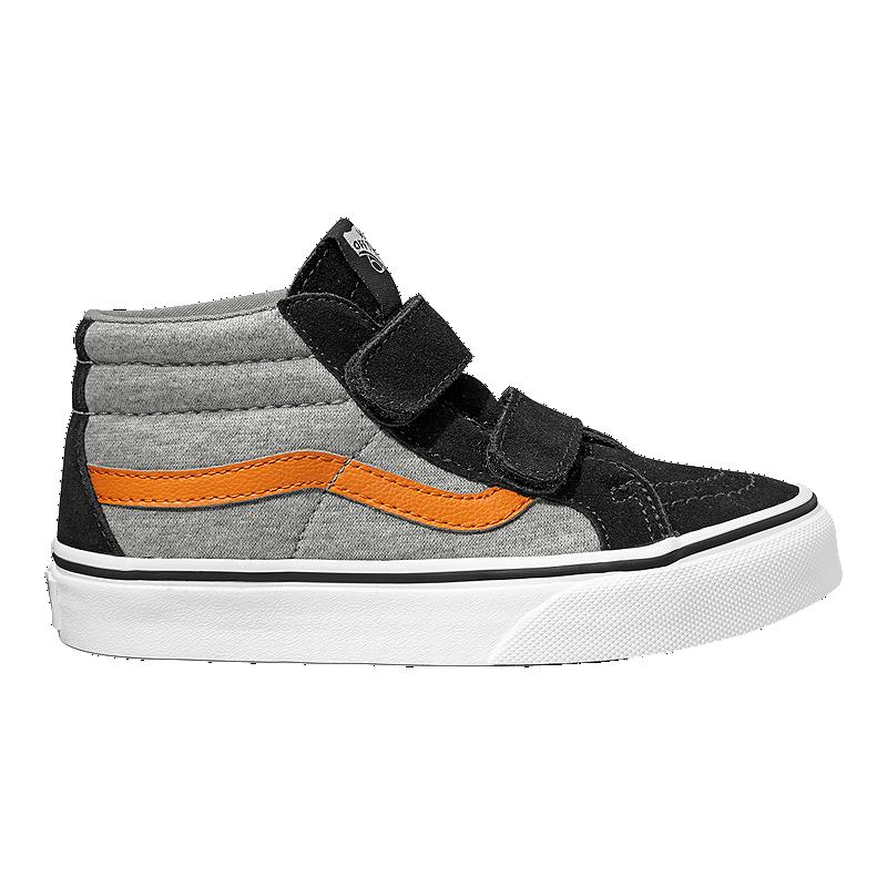 2eb3c287cb9 Vans Kids  SK8 Mid Reissue V Shoes - Grey Black