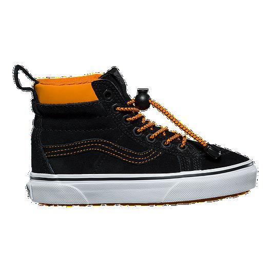 8581c4725221 Vans Kids' SK8-Hi MTE Grade School Shoes - Toggle/Orange/Black