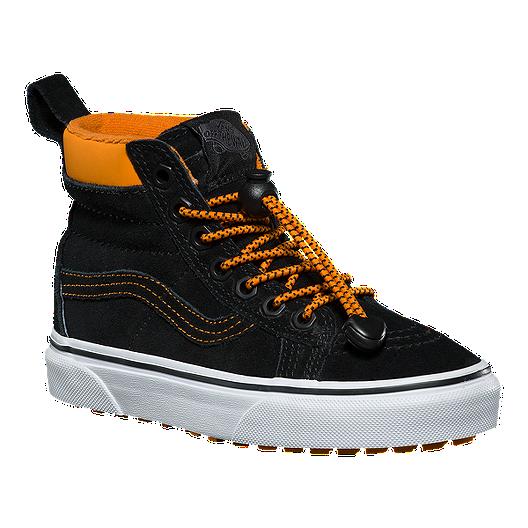 73209509e13138 Vans Kids  SK8-Hi MTE Grade School Shoes - Toggle Orange Black ...