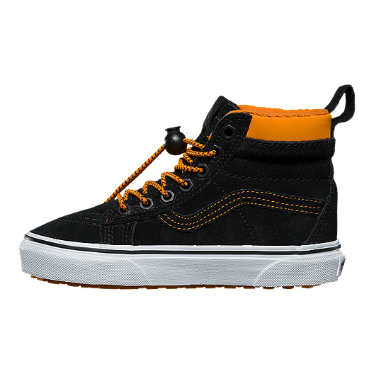 5615272c50df28 Vans Kids  SK8-Hi MTE Grade School Shoes - Toggle Orange Black. (0). View  Description