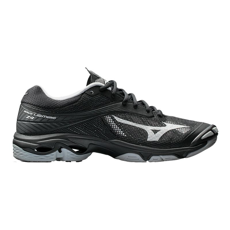 release date 28e67 dd010 Mizuno Men s Wave Lightning Z4 Indoor Court Shoes - Black Silver  (889961182655) photo