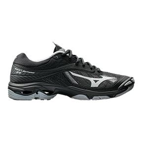 bcd92c37fc Mizuno Men s Wave Lightning Z4 Indoor Court Shoes - Black Silver