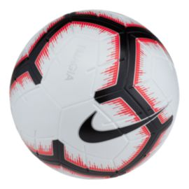 Nike Magia Size 5 Soccer Ball - White/Bright Crimson/Black