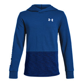 Under Armour Boys' Double Knit Pullover Hoodie