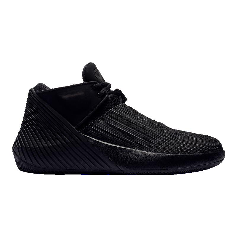 ff0a1d4e55103b Nike Men s Jordan Why Not Zero.1 Low Basketball Shoes - Black ...