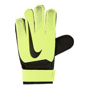 Nike Junior Match Goalkeeper Gloves - Volt Black 30d72cfba1