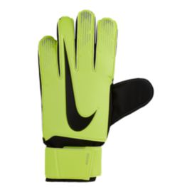 Nike Match Goalkeeper Soccer Gloves - Volt/Black