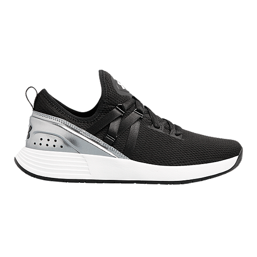 Bosque luto antiguo  Under Armour Women's Breathe Trainer Training Shoes - Black/Grey | Sport  Chek