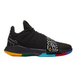 Nike Men s Jordan CP3 XI Basketball Shoes - Black Gold White  a28120428