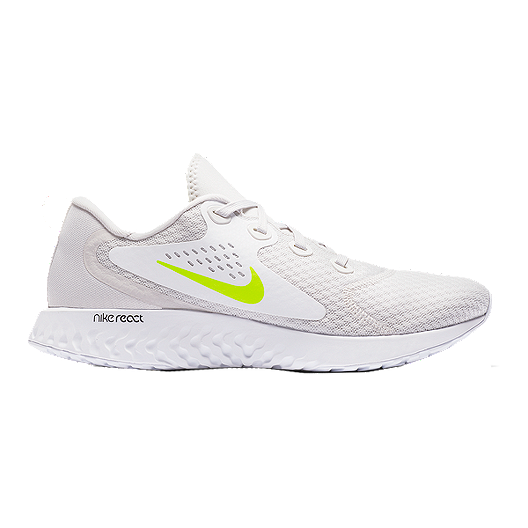 f5abf0a93442a Nike Men s Legend React Running Shoes - Grey Volt White