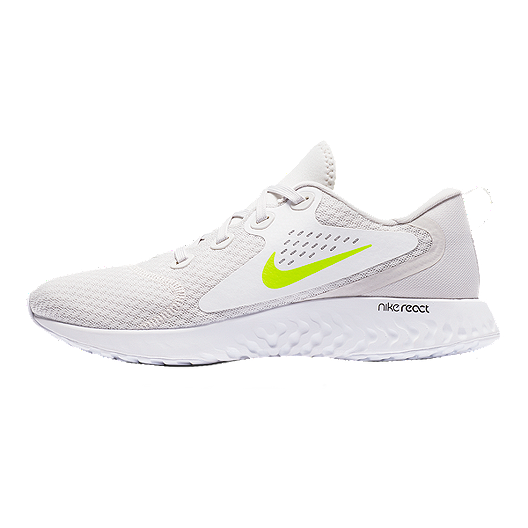 8ae56978dbd Nike Men s Legend React Running Shoes - Grey Volt White