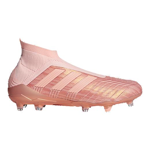 bafb66482 adidas Men s Predator 18+ FG Soccer Cleats - Clear Orange - CLEAR  ORANGE CLEAR