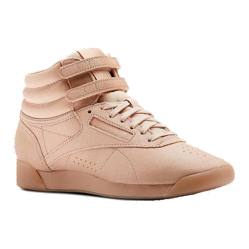 d68499d9c7c Reebok Women s Freestyle HI Shoes - Bare Beige
