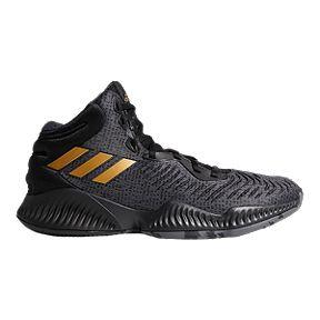 25997e185e92a adidas Men s Mad Bounce 2018 Basketball Shoes - Black Metallic Gold Grey