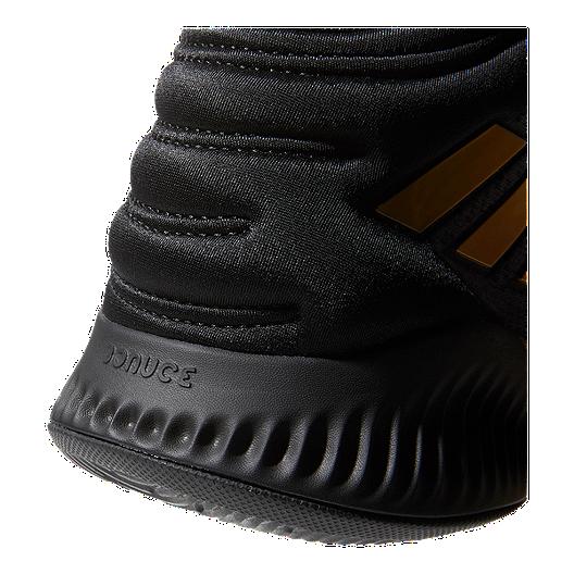 e19d4c0c66b89 adidas Men s Mad Bounce 2018 Basketball Shoes - Black Metallic Gold Grey.  (3). View Description