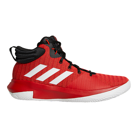 1442c1fe1 adidas Men s Pro Elevate 2018 Basketball Shoes - Red White Black ...
