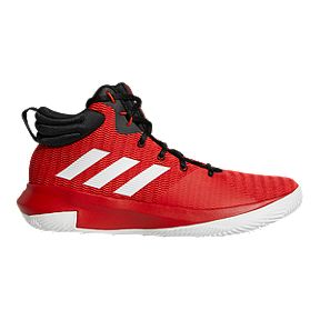 83b8b9cdd adidas Men s Pro Elevate 2018 Basketball Shoes - Red White Black