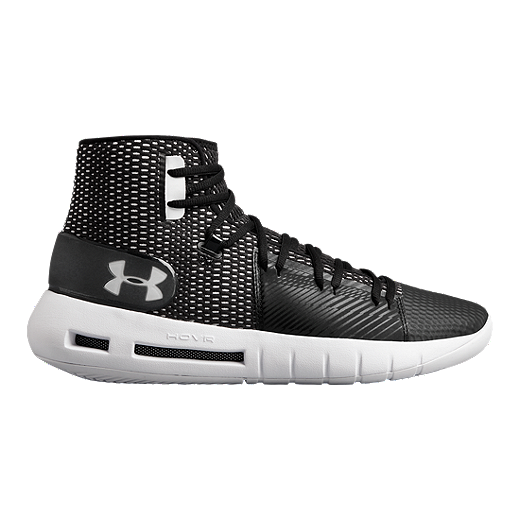 4588b8d3d7f9 Under Armour Men s Drive 5 HOVR TB Basketball Shoes - Black White - BLACK