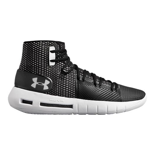 ecc499d68c128 Under Armour Men s Drive 5 HOVR TB Basketball Shoes - Black White ...