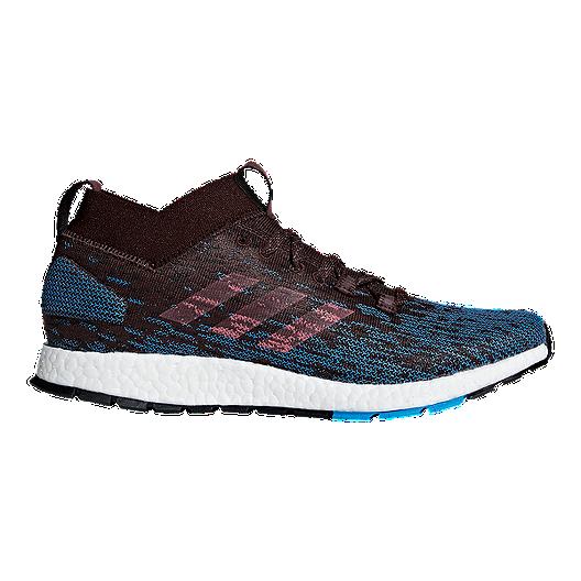 5a1330db9 adidas Men s Pure Boost RBL Running Shoes - Black Blue