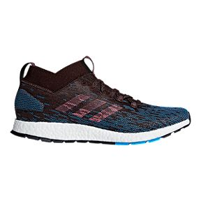 d2c40fd6befcb adidas Men s Pure Boost RBL Running Shoes - Black Blue
