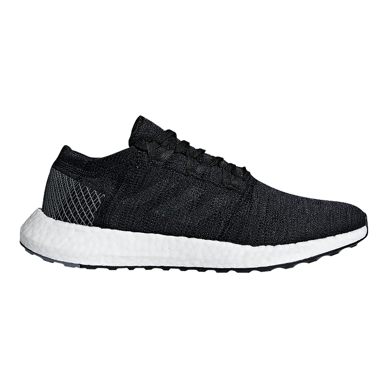 adidas Men's Pure Boost Go Running Shoes - Core Black/Grey