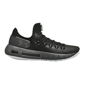 reputable site d82fb 5eadf Under Armour Men s HOVR Havoc Low Basketball Shoes - Black Grey