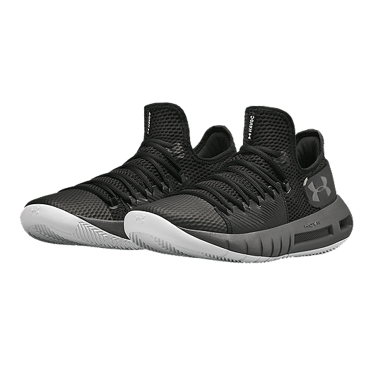 sale retailer 5dd29 24a4c Under Armour Men's HOVR Havoc Low Basketball Shoes - Black/Grey