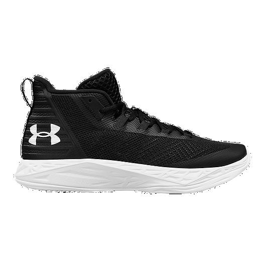20eb557e1f0 Under Armour Women s Jet Mid Basketball Shoes - Black White