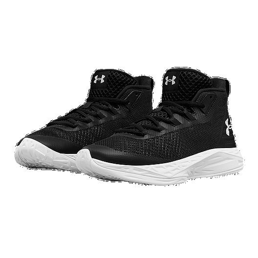 super popular d012c eb511 Under Armour Women s Jet Mid Basketball Shoes - Black White. (2). View  Description