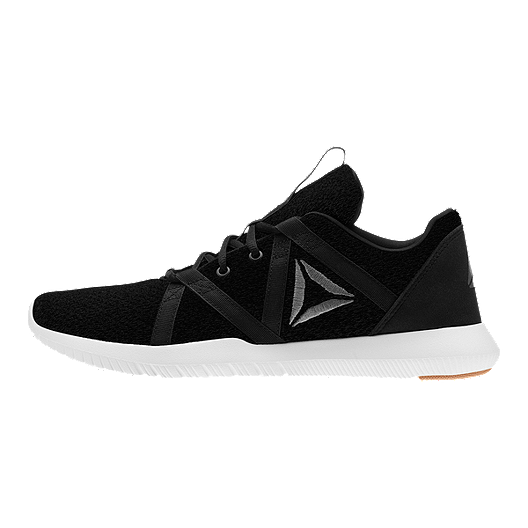 Reebok Men s Reago Essential Training Shoes - Black Ash Grey  d1552fb80