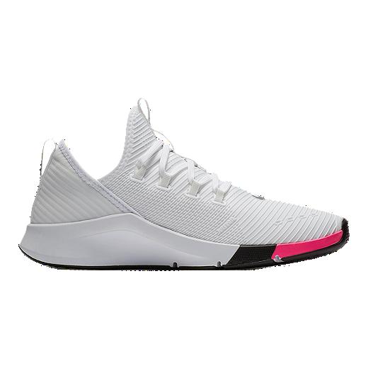 separation shoes fb1c9 d14e8 Nike Women s Air Zoom Elevate JDI TrainingShoes - White Black Pink - WHITE