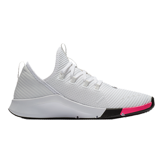 a3abd025002a9 Nike Women s Air Zoom Elevate JDI TrainingShoes - White Black Pink ...