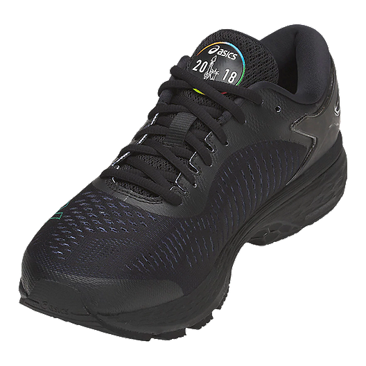 ASICS Men's GEL-Kayano 25 NYC Running Shoes - Black