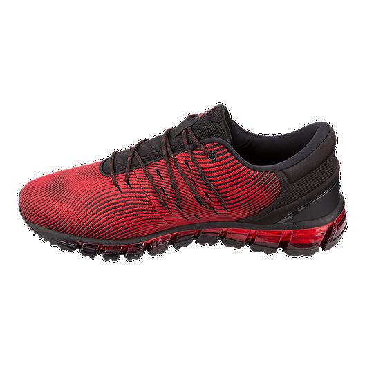 promo code 37f2b 02612 ASICS Men s GEL-Quantum 360 4 Running Shoes - Red Alert Black
