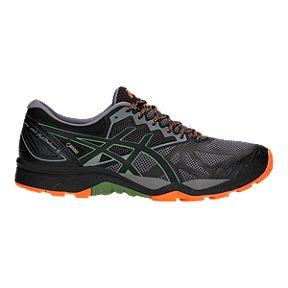 99db709529d ASICS Men s GEL-Fujitrabuco 6 GTX Running Shoes - Carbon Black