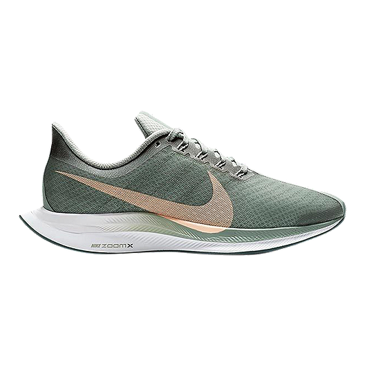 fb6462d6b8e2c Nike Women s Zoom Pegasus 35 Turbo Running Shoes - Green Silver ...