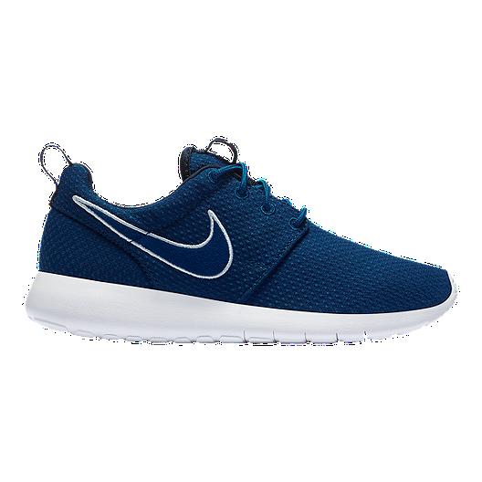 f17ab1201a23c Nike Kids  Roshe One Grade School Shoes - Gym Blue Obsidian White ...