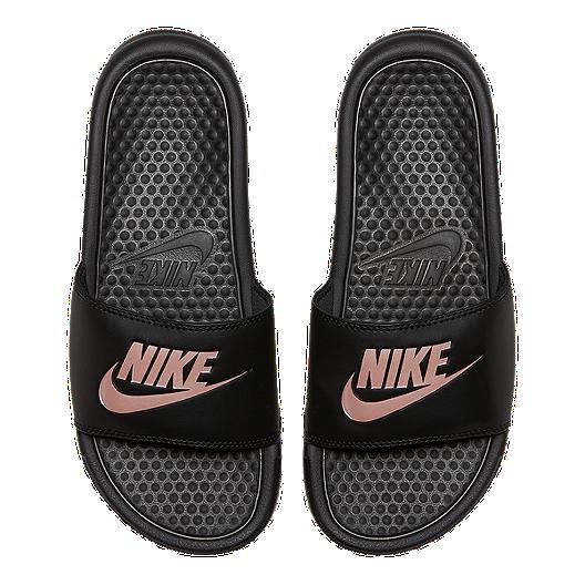 3a356667b94c Nike Women s Benassi JDI Sandals - Black Rose Gold. (0). View Description