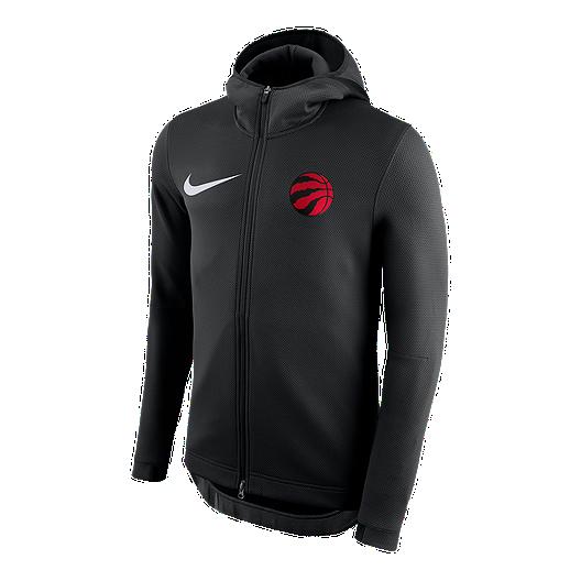 ed05f6588bd2 Toronto Raptors Nike Therma Flex Showtime HD Full Zip Hoodie