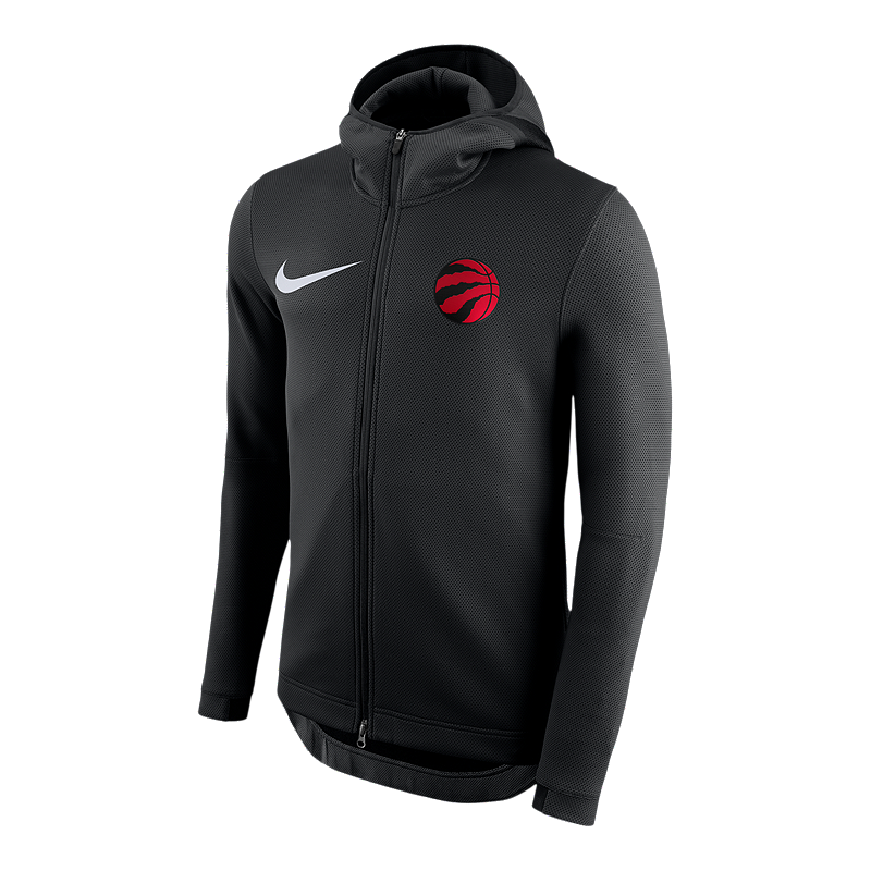 9fe7c4280e Toronto Raptors Nike Therma Flex Showtime HD Full Zip Hoodie