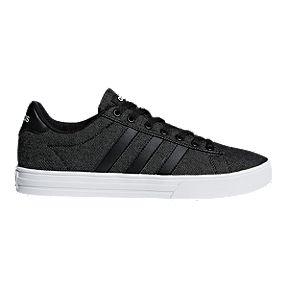 newest 85787 a5516 adidas Mens Daily 2.0 Skate Shoes - BlackWhite