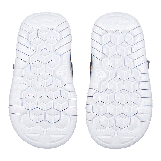finest selection 660db d4eea Nike Toddler Free RN 2018 Shoes - Gunsmoke/White/Blue