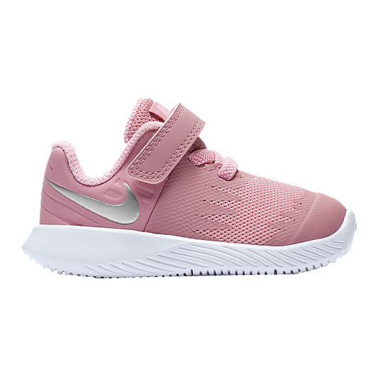 ad2c0aec01c45 Nike Girl Toddler Star Runner Shoes - Elemental Pink/Silver/White ...